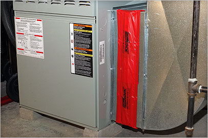 FilterLOCK® seals furnace and air conditioning air filter slots to reduce utility bills and improve indoor air quality.